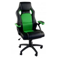 Kancelářské křeslo RCA černo-zelená