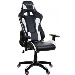 Racing PC Gaming Chefsessel GSA Schwarz/Weiß