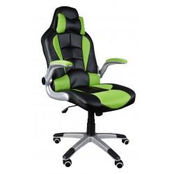 Kancelářská židle BST černé a zelené
