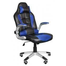Kancelářská židle BST černá a modrá
