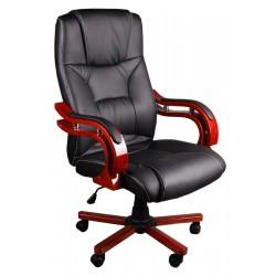 Fotel biurowy LUX czarny z masażem
