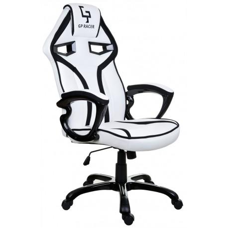 Kancelářská židle GP RACER bílé a černé