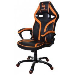 Kancelářská židle GP RACER černá a oranžová