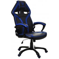 Kancelářská židle GP RACER černá a modrá