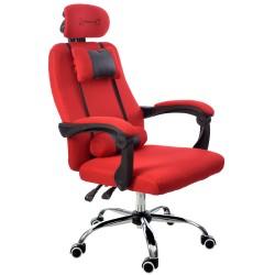 Bürosessel Chefsessel FBF Schwarz-Rot