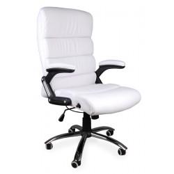 Fotel biurowy DECO biały