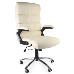 Fotel biurowy DECO ecru