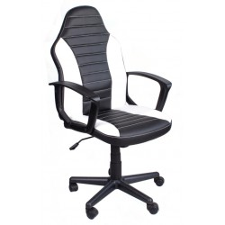 Kancelářská židle FBE černobílý
