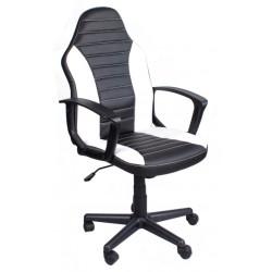 Bürosessel Chefsessel FBE Schwarz- Weiß