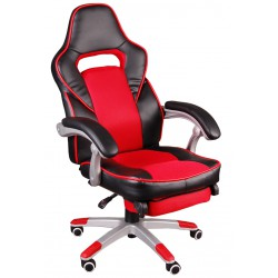 Bürosessel Chefsessel  FBG Schwarz und Rot