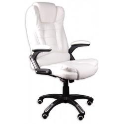 Fotel biurowy BRUNO biały