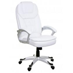 Fotel biurowy MARCO biały
