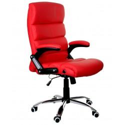 Fotel biurowy DECO czerwony